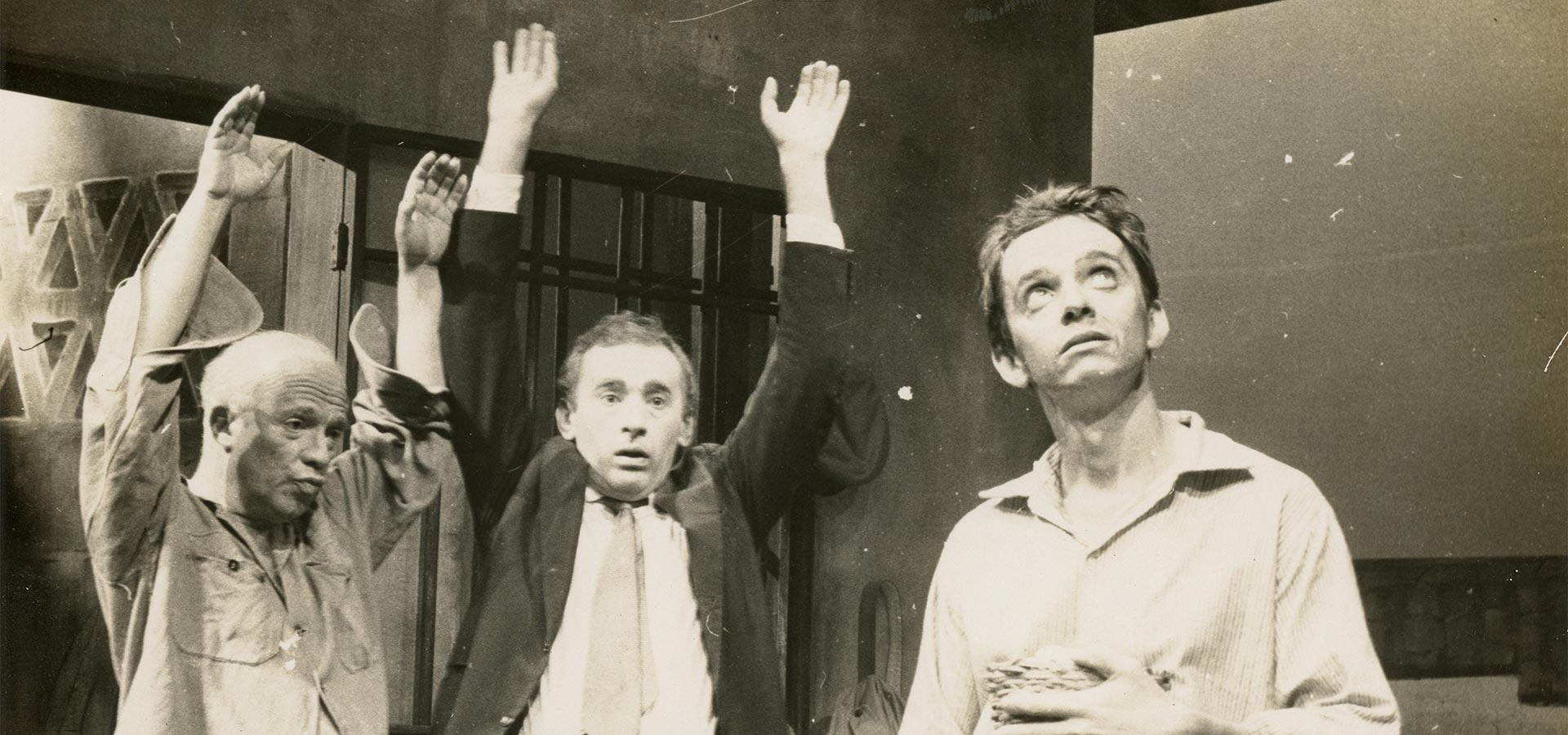 """Parte do elenco de """"Lisbela e o Prisioneiro"""""""