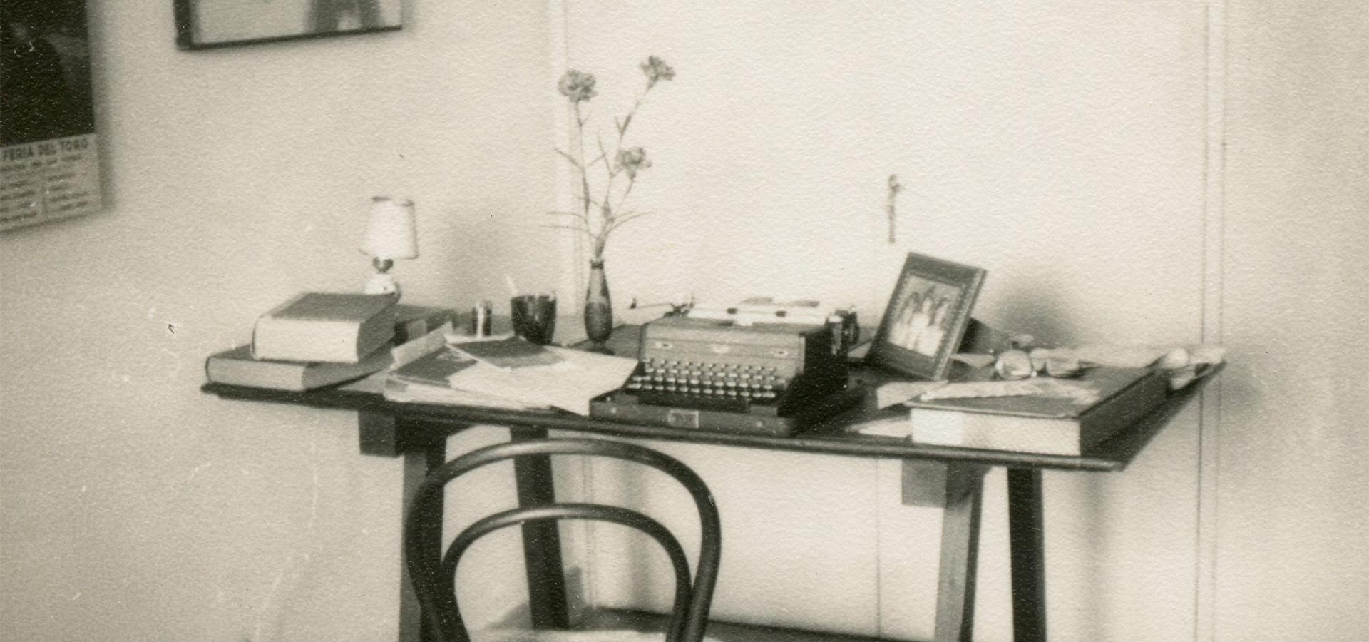 Mesa de Trabalho - Osman Lins